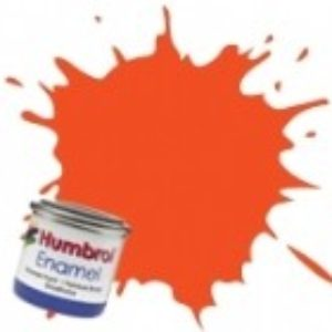 Humbrol 1322 Clear Colour Orange