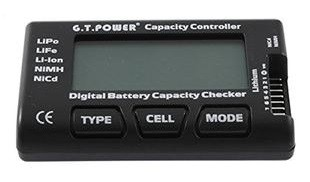 GT Power Multi Battery Capacity Checker