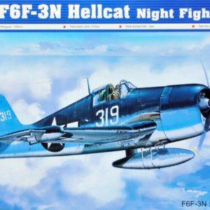 Trumpeter 1/32 F6F-3N Hellcat