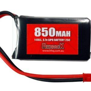 Redback 2S 7.4v 850MaH Lipo Battery