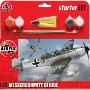 1/72 Bf109e Messerschmitt Starter Set