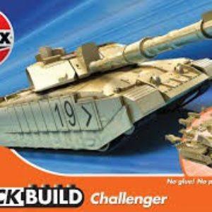 Quickbuild Challenger Tank