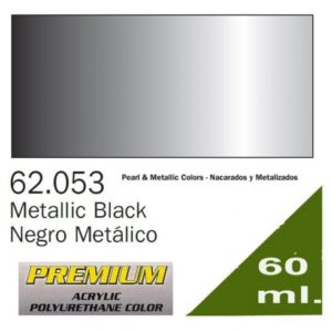 Vallejo 62053 Premium Metallic Black