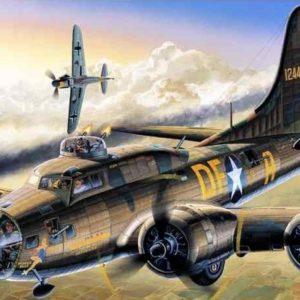 "1/72 B-17F ""Memphis Belle"""