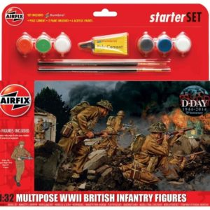 1/32 British WWII Infantry Figure Set