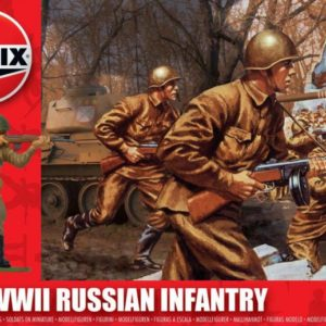 1/32 WWII Russian Infantry