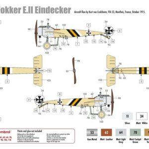 1/72 Fokker E.III Eindecker
