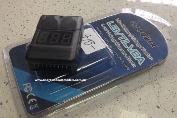 GT Power Lipo Tester ALARM