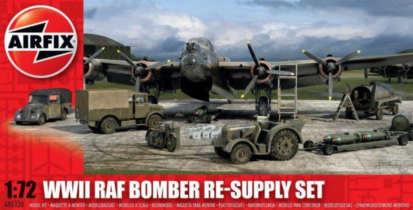 WWII RAF Bomber Re-Supply SET