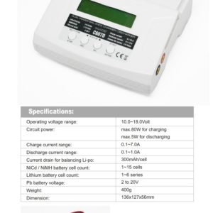 GT Power 7A Multi Chemistry Charger