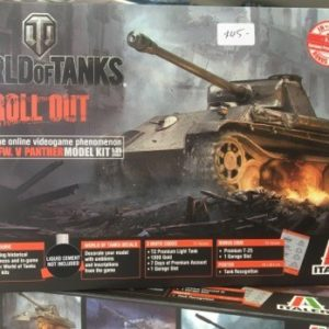 1/35 World of Tanks PZ.KPFW. Panther V