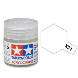 Tamiya X-21 Flat Acrylic Base