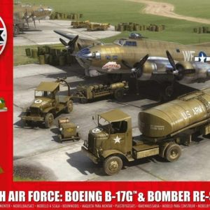 1/72 8th Air Force B-17G & Bomber Re-Supply Set