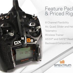 NEW - Spektrum DX8e Transmitter