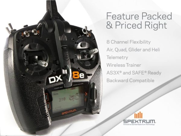 NEW - Spektrum DX8e Transmitter