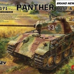 *NEW Meng 1/35 Panther Ausf.A Late