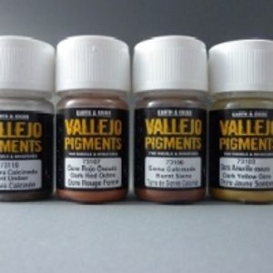 Vallejo Acrylic Pigments