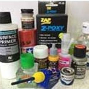 Paints Glues Accessories